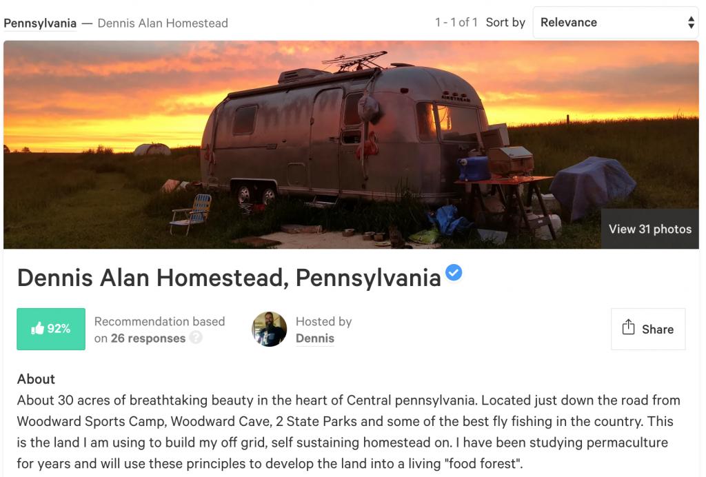 Dennis ALan Camping